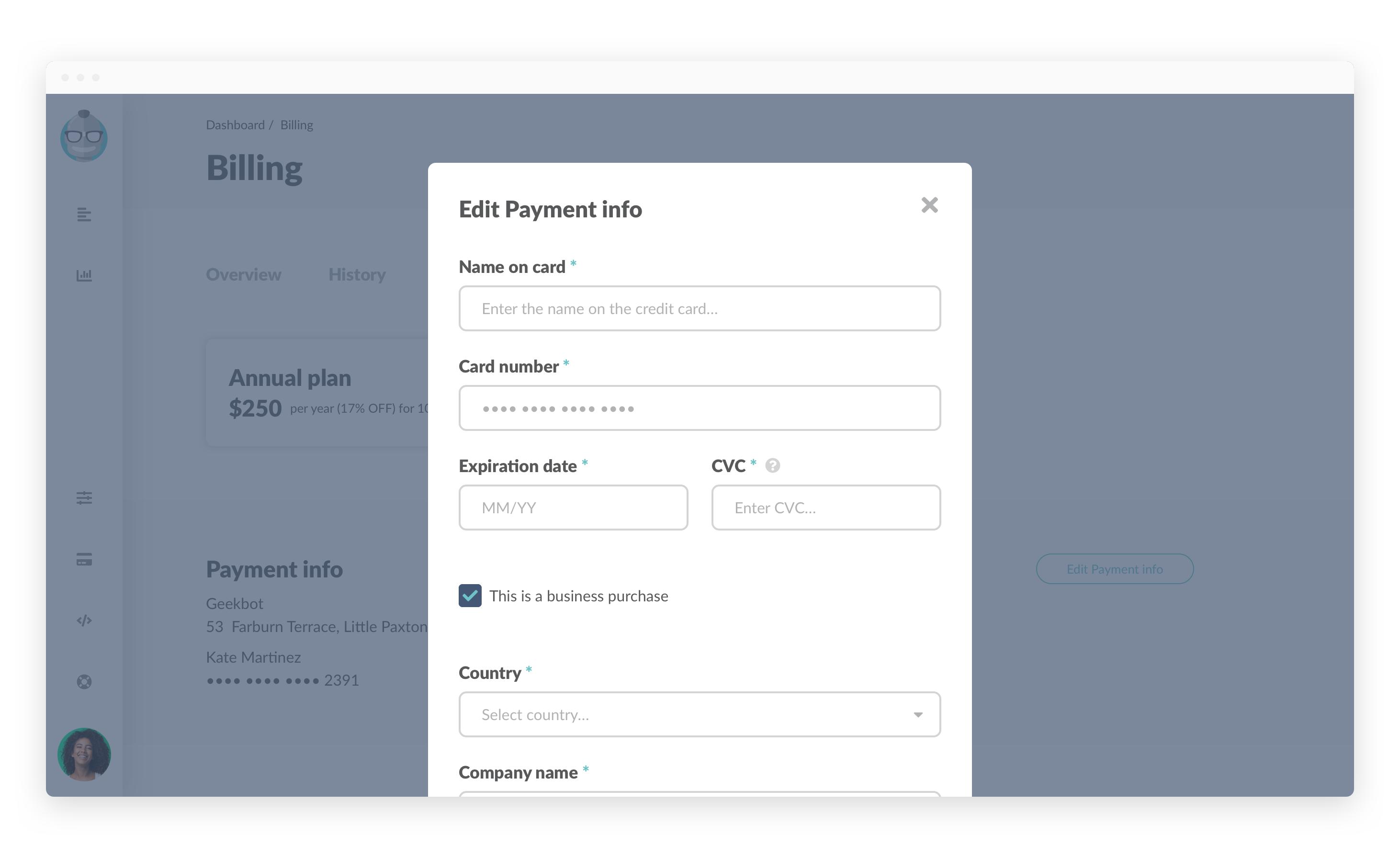 Billing edit payment modal change card.png