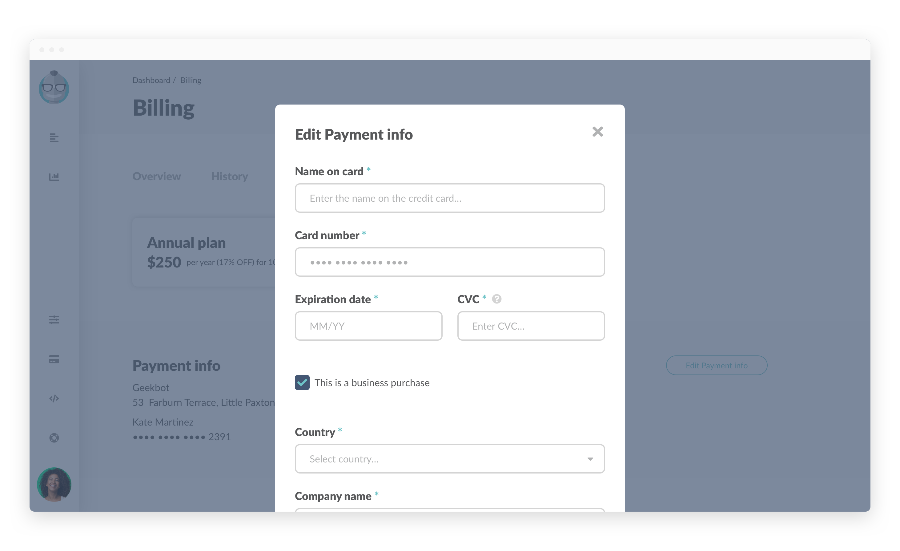 Billing edit payment modal change card.png